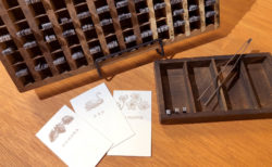 SHINSO CO., LTD. / Echos Design & Letterpress ワークショップ